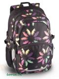BAGMASTER Batoh MADISON06B black/butterfly