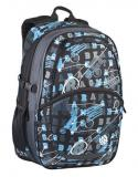 BAGMASTER Batoh MADISON06C black/blue