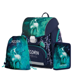 Karton P+P Školský batohový set Unicorn Magic 2 (3-dielny)